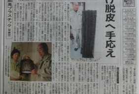 中日新聞掲載